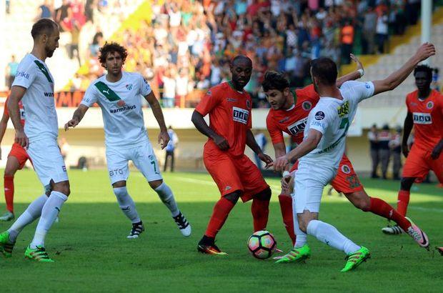 Alanyaspor: 0 - Bursaspor: 2 | MAÇ SONUCU