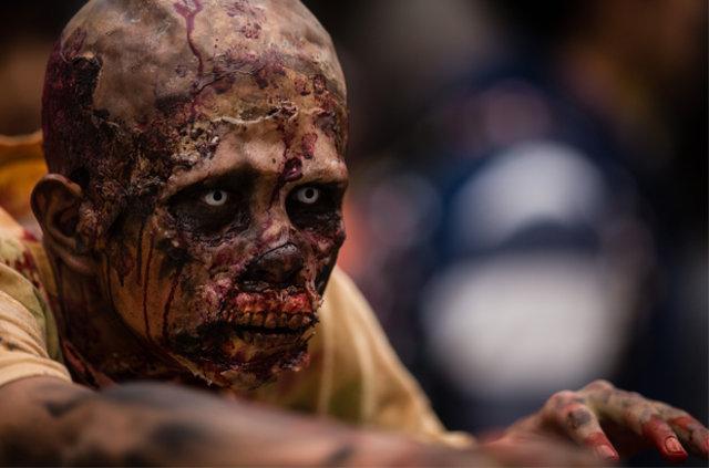 Meksika'da zombi yürüyüşü