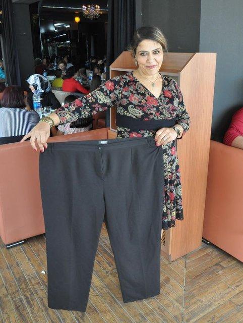 """""""Kadın olmayı özledim"""" diyen Muhsine Tekin 1,5 yılda 84 kilo verdi"""