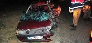 Bursa'da trafik kazası: 2 ölü, 4 yaralı