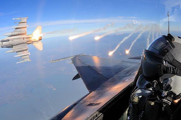 Suriye'de 8 DEAŞ ve 51 PKK/PYD hedefi vuruldu