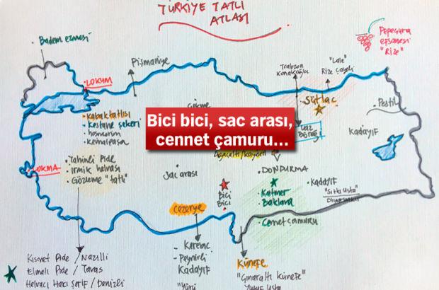 Türkiye tatlı atlası