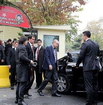 Cumhurba�kan� Recep Tayyip Erdo�an, Sar�yer �ehit Kemal Aykut Gen� Polis Merkezi
