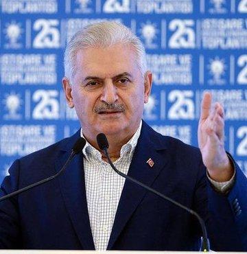 Ba�bakan Binali Y�ld�r�m, AK Parti