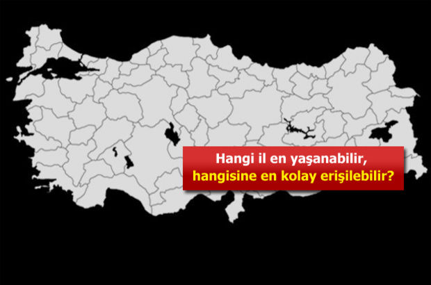 Türkiye'nin en çalışılabilir illeri
