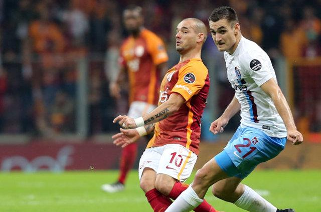 Galatasaray'ın Hollandalı yıldızı Wesley Sneijder 9 aydır Süper Lig'de gol atamıyor