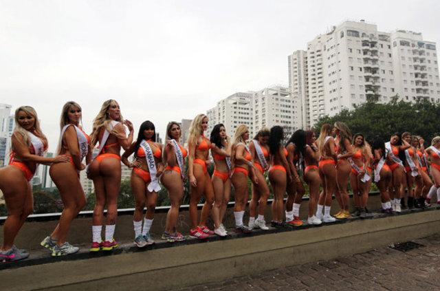 'Miss Bum Bum' Brezilya'yı karıştırdı