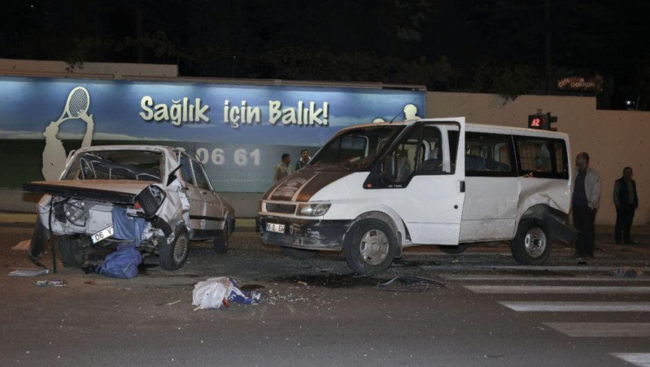 Ankara zincirleme trafik kazası
