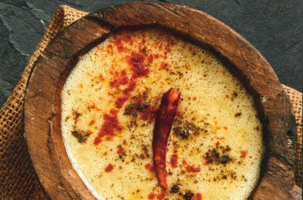 Avokadolu Mısır Çorbası