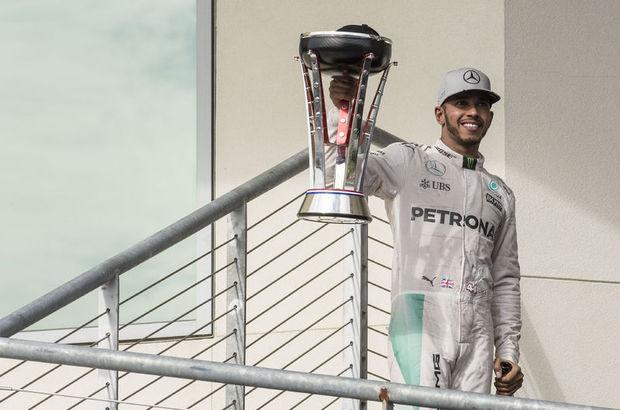 ABD'de zafer Lewis Hamilton'ın!