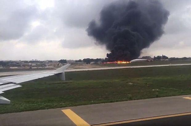 malta uçak kazası