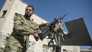 ÖSO birlikleri El Bab'a yakın köylerde temizliğe başladı