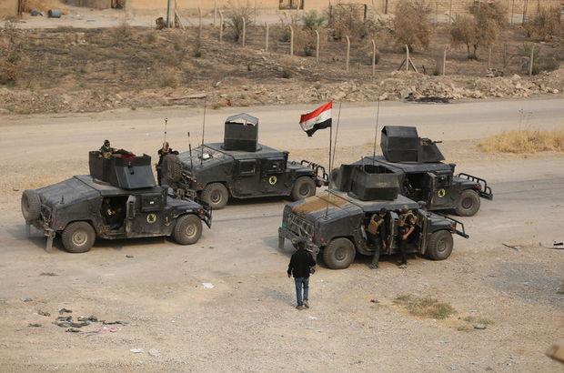 Irak güçleri kontrolü tamamen sağladı