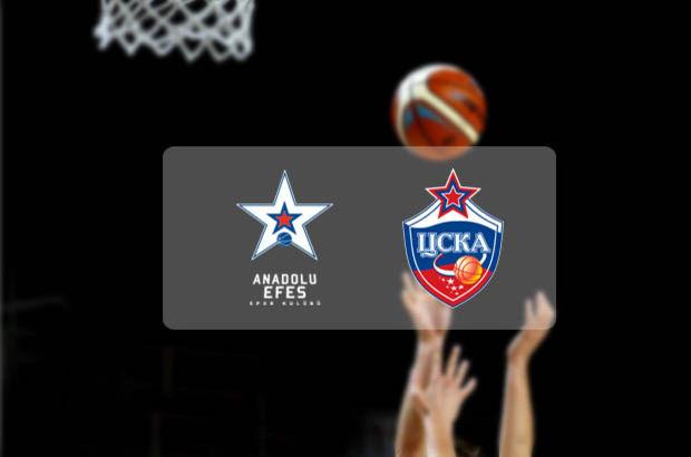 Anadolu Efes CSKA Moskova
