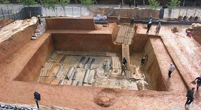 Çin'de gizli mezar bulundu