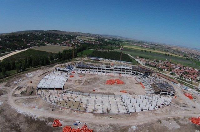 Eskişehir yeni stadına kavuşuyor
