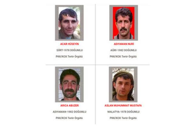 İçişleri Bakanlığı Adil Öksüz'ün başına 4 milyon lira ödül koydu, Aranan teröristler listesi, içişleri Bakanlığı aranan teröristler listesini güncelle