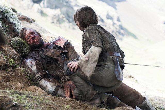 """Arya Stark'tan Game of Thrones ipuçu: """"Sonu sarsıcı olacak"""""""