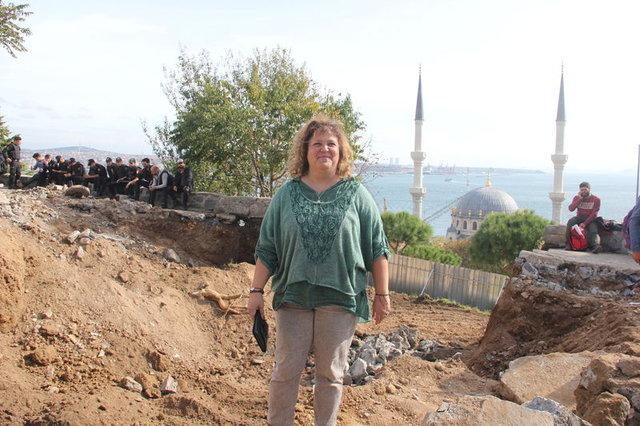Sosyal tesis yapım çalışmasında Osmanlı seramiği bulundu