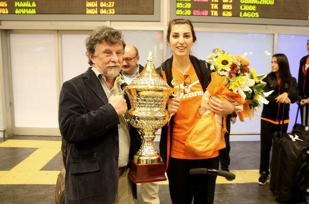 Dünya Şampiyonu Eczacıbaşı VitrA İstanbul'da