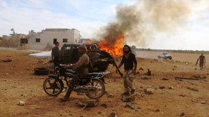 Esad rejimi ve PYD, ÖSO'yu vurdu
