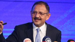 Çevre Bakanı Özhaseki: Rant olmadan hayat olmaz