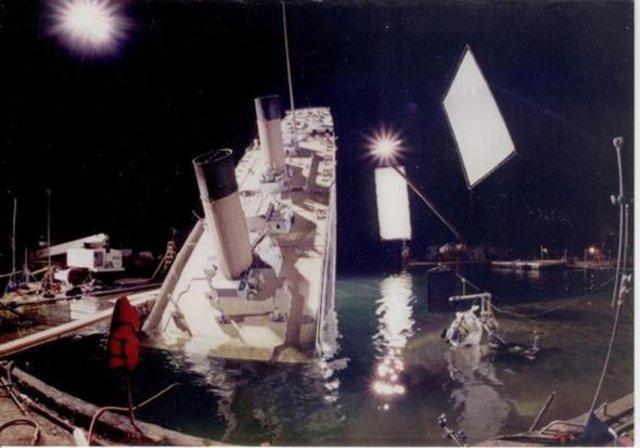 Film ve dizilerin kamera arkası görüntüleri
