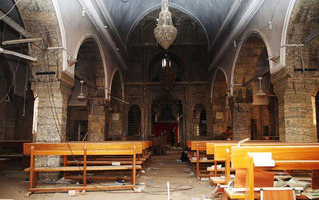 DEAŞ tarihi kiliseyi bu hale getirdi