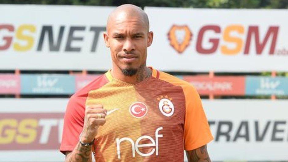 Nigel de Jong Felipe Melo Galatasaray