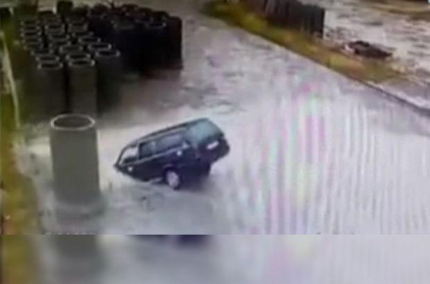 Otomobil havuz kaza