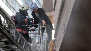 Kadıköy'de çıkan yangın korkuttu