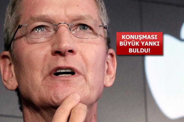 Apple CEO'su Tim Cook büyük projeyi açıkladı!
