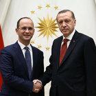 Cumhurbaşkanı Erdoğan, Arnavutluk Dışişleri Bakanı Buşati'yi kabul etti