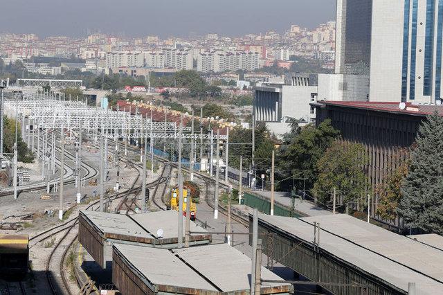 Ankara YHT Garı'nda tarifeli seferler yarın başlıyor