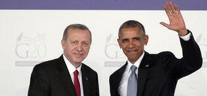 Cumhurbaşkanı Erdoğan ile ABD Başkanı Obama telefonda görüştü