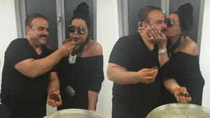 Bülent Serttaş, Bülent Ersoy için çiğköfte yoğurdu
