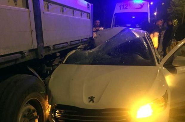 Zonguldak'da trafik kazası