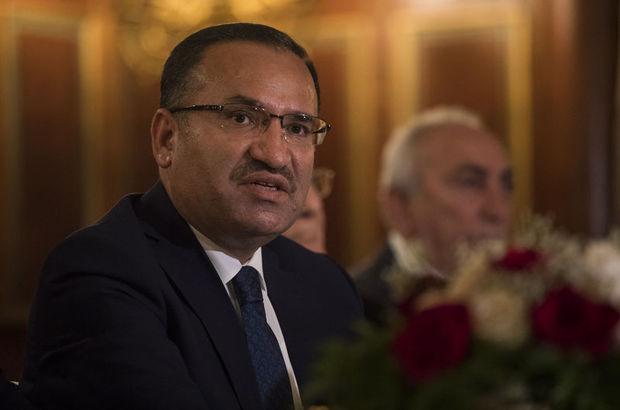 Adalet Bakanı Bekir Bozdağ tutuklu gazetecilerle ilgili soru önergesini yanıtladı