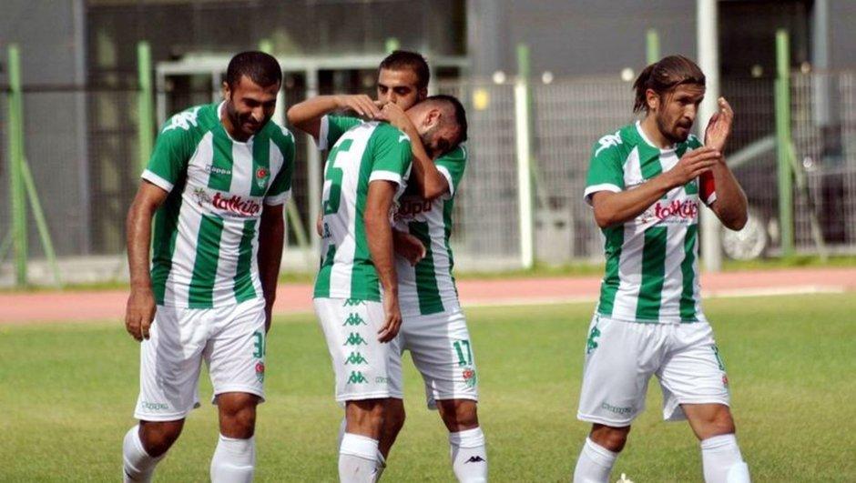 Yeni Amasyaspor Türkiye Kupası'da tarih yazdı