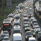 15 Temmuz Köprüsü'ndeki kaza trafik yoğunluğuna yol açtı