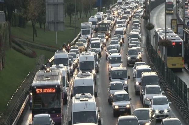 trafik İstanbul 15 Temmuz Köprüsü