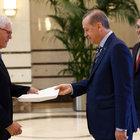 Cumhurbaşkanı Erdoğan büyükelçilerle görüştü