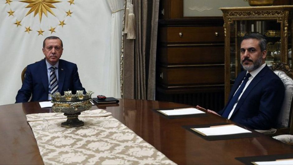Recep Tayyip Erdoğan Hakan Fidan