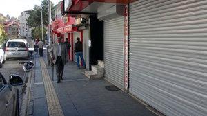 Muş'ta toplu kepenk kapatma yasaklandı