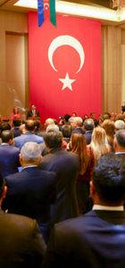 Azerbaycan'da 29 Ekim resepsiyonu