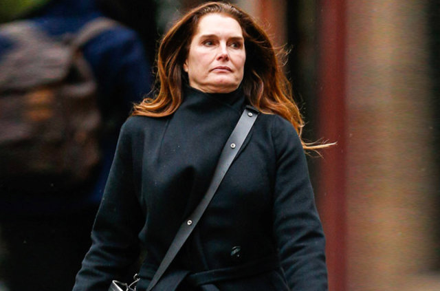 Brooke Shields New York'ta