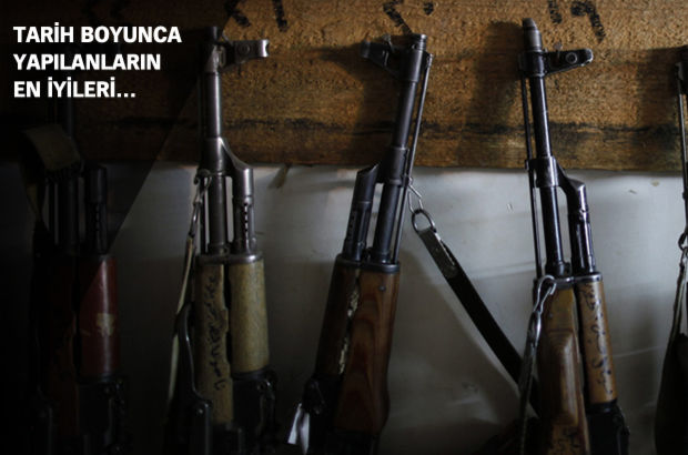 Yapılmış en iyi 50 silah