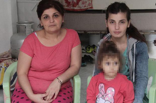 Anne ve kızına 24 saat koruma verildi