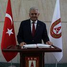 "BAŞBAKAN'DAN 29 EKİM MESAJINDA ""BAŞKANLIK"" VURGUSU"