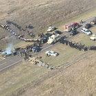 ABD'de 'boru hattı' protestosu: 141 gözaltı